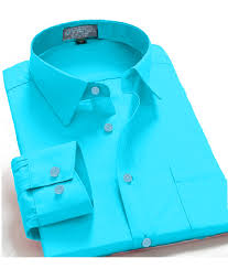 Dress-Shirts-Men-039-s-Regular-Fit-Oxford-