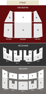 Robinson Center Music Hall Little Rock Ar Seating Chart
