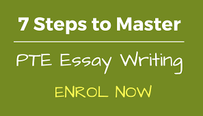 e learning steps to master pte essay writing 7 steps to master pte essay writing