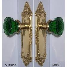 colored glass door knobs. beautiful crystal doorknobs! colored glass door knobs o