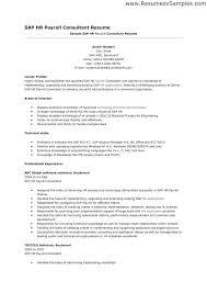 Sample Resume For Consultant Best Of Sap Mm Consultant Resume Sap Mm Module Resume Lovely Sap Sample