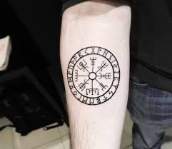 Nordic Compass Tattoo By Sebastian Echeverria Photo 25294