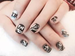 Bts Nail Designs Venus Nails And Day Spa Nail Art Hacks Swag Nails Nail Art