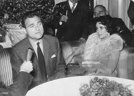 mike todd elizabeth taylor. Modren Elizabeth American Film Producer Mike Todd 1907  1958 With His Wife In Elizabeth Taylor
