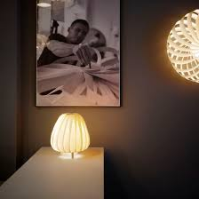 table lamp contemporary birch paper st906