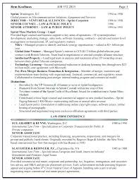 Sample General Counsel Resume Radame Brianstern Co