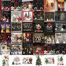 Weihnachten Fensterbild Sticker Wandtattoo Weihnachtsmann