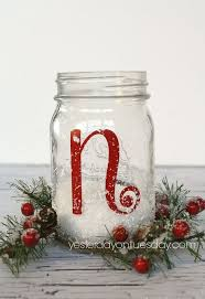 Mason Jars Decorated For Christmas How to make noel mason jars Hometalk 40
