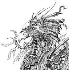 Phoenix Drawing By Emma Ridley