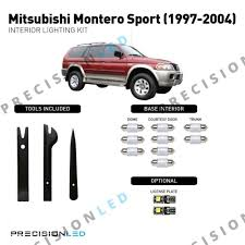 Mitsubishi Montero Interior Lights Mitsubishi Montero Sport Premium Led Interior Package 1997 2004