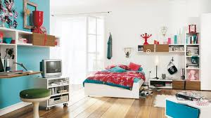 bedroom ideas for teenage girls blue. Teens Room:Fantastic Teenage Girl Bedroom With Blue Wall Color And White Shelves Also Ideas For Girls