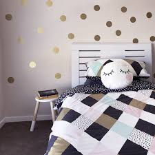 gold spots removable decals in the ward home