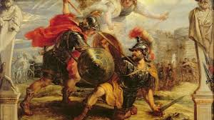 trojan war history myth the art of manliness death of achilles at hector s sword trojan war painting