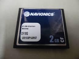 Navionics Gold Chart Cartridge Navionics Gold Cf Chart Card All Usa Northern Bahamas Cf 1xg 2gb Tested