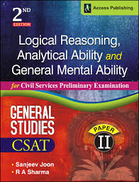 buy logical reasoning analytical ability and general mental buy logical reasoning analytical ability and general mental ability for civil services preliminary examination book online at low prices in logical