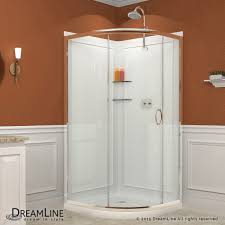 36 x 36 corner shower kit. enclosure, base \u0026 backwall kit 36 x corner shower