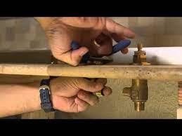 installing a 2 handle roman tub fuacet