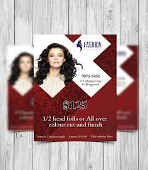 Printable Flyer Template Hair Salon Flyer Beauty Salon Flyer Template Business Promotion Business Flyer Printable