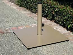umbrella base diy