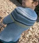 Как связать втачной рукав на свитере