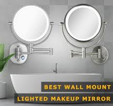 4 best wall mounted makeup mirrors of