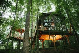 Exotic Tree Houses Romantic Luxury Treehouse Retreat At Bolt Farm Treehouses For