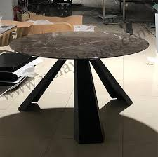 marble top round dining tables