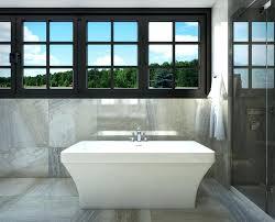 5 bathtub 5 ft 6 inch freestanding bathtub with centre drain in white freestanding bathtubs 5