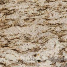 3 in x 3 in granite countertop sample in bianco lucre