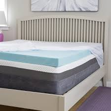 memory foam mattress topper 4 inch. Exellent Inch Slumber Perfect 4 Inch Gel Memory Foam Topper With Egyptian Cotton Cover For Memory Foam Mattress Topper Inch