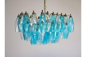 elegant murano poliedri chandelier carlo scarpa photo