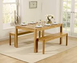 oak dining table. Oxford 150cm Solid Oak Dining Table With Benches