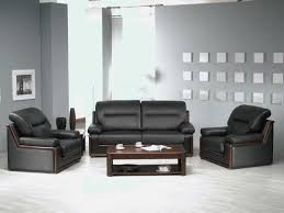 a sofa black sofa set office