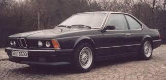 bmw e24 six series bmw e24 635csi