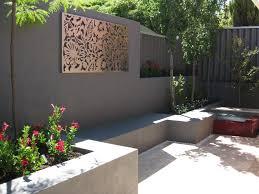 railing feature art garden screens wall box metal australia ceramic australian simple outdoor wall art