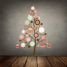 Christmas Tree Wall Art Sticker