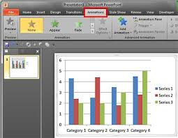 Powerpoint Charts Tutorial Animate Charts In Powerpoint 2010 For Windows