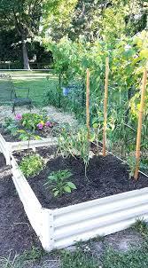 metal raised garden beds growing vegetables how to corrugated build met