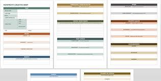 Restaurant Design Brief Example Free Creative Brief Templates Smartsheet