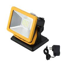 Portable Flood Lights Outdoor Rechargeable Ip65 Led Flood Light 15w Waterproof Ip65