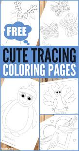 Free printable & coloring pages. Free Printable Tracing Coloring Pages For Kids Trail Of Colors Coloring Pages For Kids Coloring Pages Free Coloring Pages