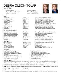 Debra Olson Tolar Storyteller Sag Aftra Actor Acting Resume