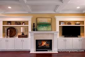 Built In Cabinets Beside Fireplace Greensboro Interior Design Window Treatments Greensboro Custom