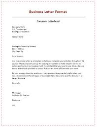 formal business letters templates formal business letter format letters template standart