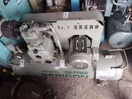 Máy bơm hơi - Hitachi 2hp , 380 vol , 1 cấp ,bình 90 lít ,...