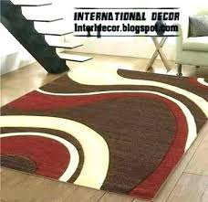 brown red rug red and brown rugs cream rug designs inspiring furniture vibrant with leather couch