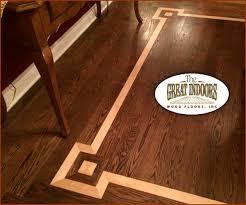 wood floor inlays. Wood Inlay Into A Hardwood Floor Creating An Interesting Border Inlays