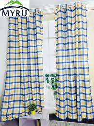 Plaid Curtains For Living Room Tartan Plaid Curtains Promotion Shop For Promotional Tartan Plaid