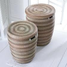 senegal laundry basket woven baskets hand