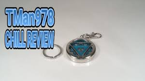 Glowing Arc Reactor Iron Man Key Chain Chill Review
